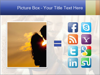 Man and woman at home PowerPoint Templates - Slide 21