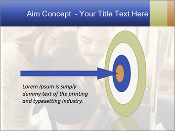 Man and woman at home PowerPoint Template - Slide 83