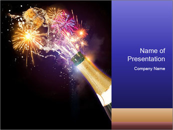 Celebrations concept PowerPoint Template - Slide 1