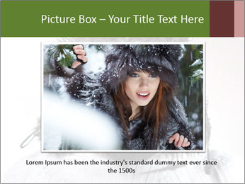 Portrait of a bearded wearing hat lumberjack PowerPoint Template - Slide 16
