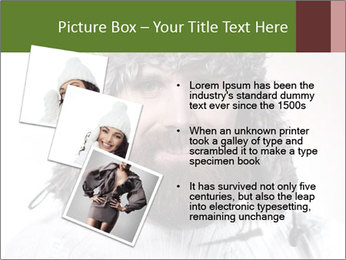 Portrait of a bearded wearing hat lumberjack PowerPoint Template - Slide 17