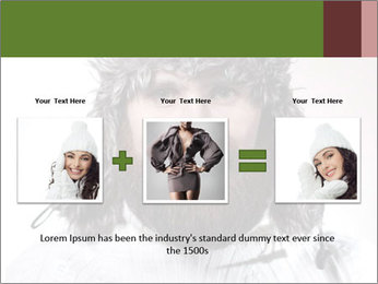 Portrait of a bearded wearing hat lumberjack PowerPoint Template - Slide 22