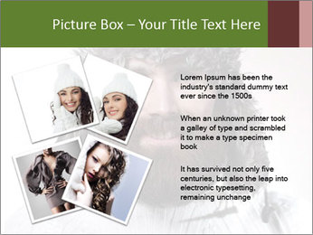 Portrait of a bearded wearing hat lumberjack PowerPoint Template - Slide 23