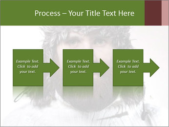 Portrait of a bearded wearing hat lumberjack PowerPoint Template - Slide 88