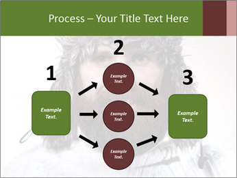 Portrait of a bearded wearing hat lumberjack PowerPoint Template - Slide 92