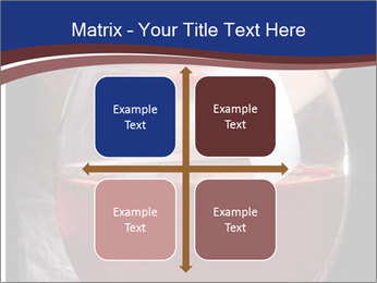 Glass of red wine PowerPoint Templates - Slide 37