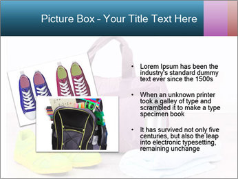 Sports bag with sports PowerPoint Template - Slide 20