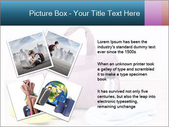 Sports bag with sports PowerPoint Template - Slide 23