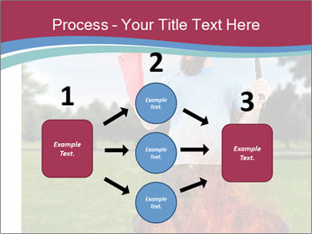 A man grilling with a fire that's too big PowerPoint Templates - Slide 92