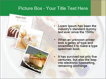 Lobster dish PowerPoint Template - Slide 17