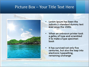 Tropical vacation PowerPoint Templates - Slide 13