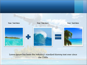 Tropical vacation PowerPoint Templates - Slide 22