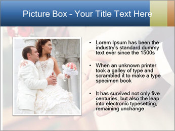 Wedding photos in retro style PowerPoint Template - Slide 13