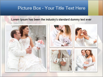 Wedding photos in retro style PowerPoint Template - Slide 19