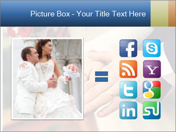 Wedding photos in retro style PowerPoint Template - Slide 21
