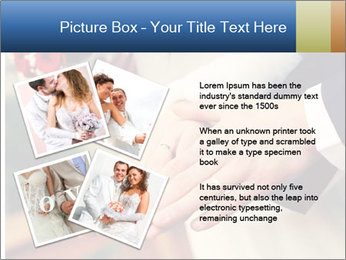 Wedding photos in retro style PowerPoint Template - Slide 23