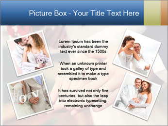 Wedding photos in retro style PowerPoint Template - Slide 24
