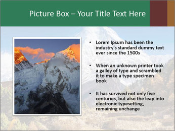 Himalayas mountain landscape PowerPoint Templates - Slide 13