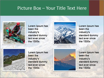 Himalayas mountain landscape PowerPoint Templates - Slide 14