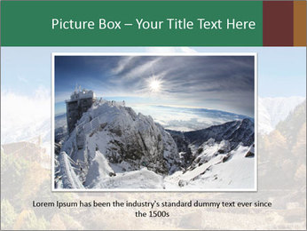 Himalayas mountain landscape PowerPoint Templates - Slide 15