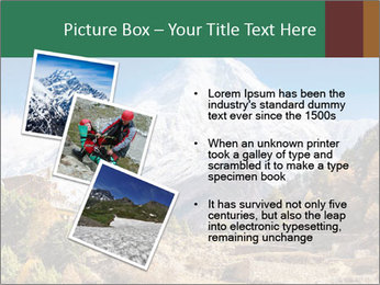 Himalayas mountain landscape PowerPoint Templates - Slide 17