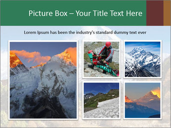 Himalayas mountain landscape PowerPoint Templates - Slide 19