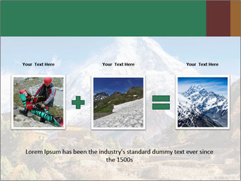 Himalayas mountain landscape PowerPoint Templates - Slide 22