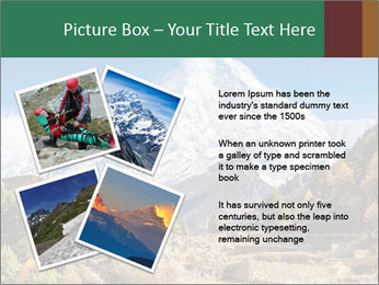 Himalayas mountain landscape PowerPoint Templates - Slide 23