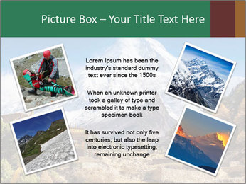 Himalayas mountain landscape PowerPoint Templates - Slide 24