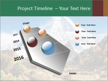Himalayas mountain landscape PowerPoint Templates - Slide 26