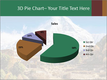 Himalayas mountain landscape PowerPoint Templates - Slide 35