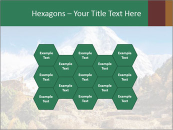 Himalayas mountain landscape PowerPoint Templates - Slide 44
