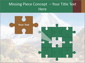 Himalayas mountain landscape PowerPoint Templates - Slide 45