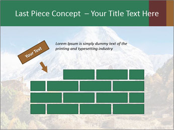 Himalayas mountain landscape PowerPoint Templates - Slide 46