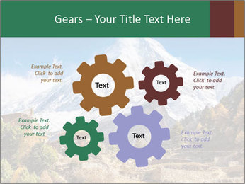 Himalayas mountain landscape PowerPoint Templates - Slide 47