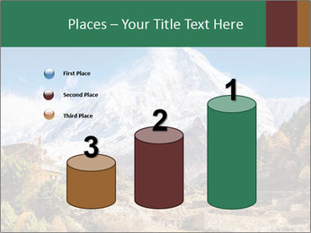 Himalayas mountain landscape PowerPoint Templates - Slide 65