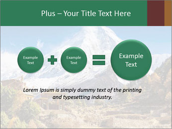 Himalayas mountain landscape PowerPoint Templates - Slide 75