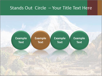 Himalayas mountain landscape PowerPoint Templates - Slide 76