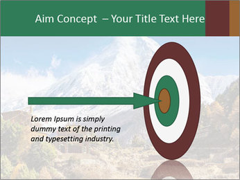 Himalayas mountain landscape PowerPoint Templates - Slide 83