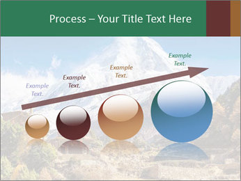 Himalayas mountain landscape PowerPoint Templates - Slide 87