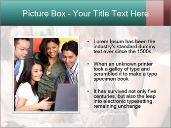 Group Of Middle Age Friends PowerPoint Templates - Slide 13