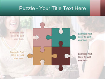 Group Of Middle Age Friends PowerPoint Templates - Slide 43