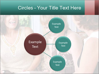 Group Of Middle Age Friends PowerPoint Templates - Slide 79