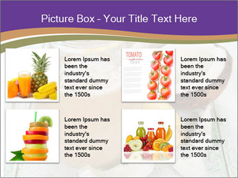 Smoothies with coconut milk and banana PowerPoint Template - Slide 14