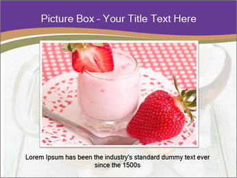 Smoothies with coconut milk and banana PowerPoint Templates - Slide 16