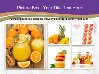 Smoothies with coconut milk and banana PowerPoint Templates - Slide 19