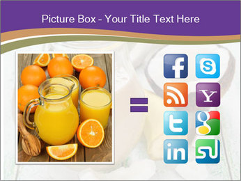 Smoothies with coconut milk and banana PowerPoint Templates - Slide 21