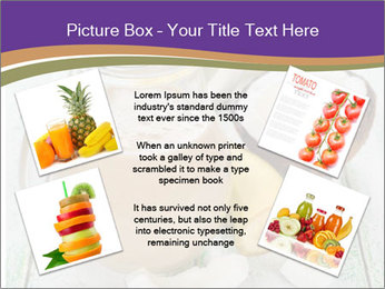 Smoothies with coconut milk and banana PowerPoint Templates - Slide 24