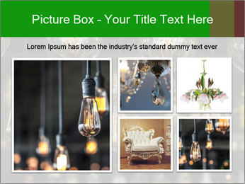 Vintage Lighting decor PowerPoint Templates - Slide 19