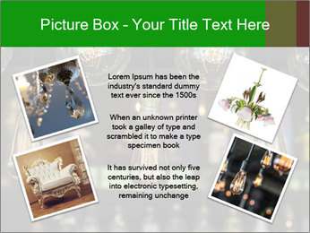 Vintage Lighting decor PowerPoint Templates - Slide 24